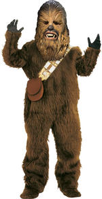 Chewbacca Costume Boys Fancy Dress Kids Child Star Wars Licensed